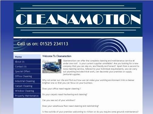 https://www.cleanamotion.co.uk/ website