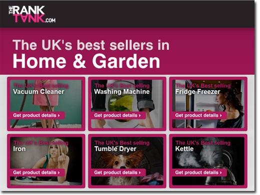 http://www.theranktank.com/home-garden website