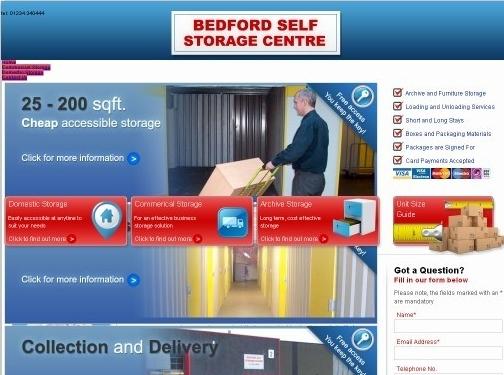 https://www.bedfordselfstorage.co.uk/ website
