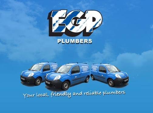 https://www.egpplumbers.co.uk/ website