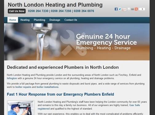 https://www.northlondonheatingandplumbing.co.uk/ website
