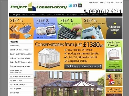 http://www.projectconservatories.co.uk website