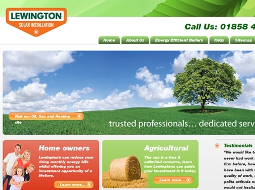 https://www.lewington-heating.co.uk/ website