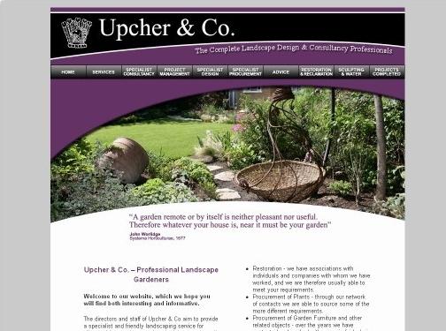 http://www.upcher.co.uk/ website