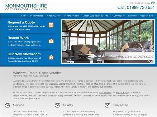 https://www.monmouthshireconservatorycompany.co.uk/ website
