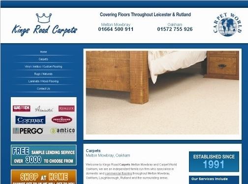 http://www.carpetworldoakham.co.uk website
