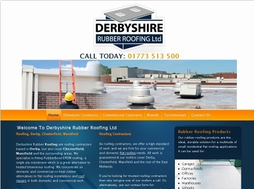http://www.derbyshirerubberroofing.co.uk website
