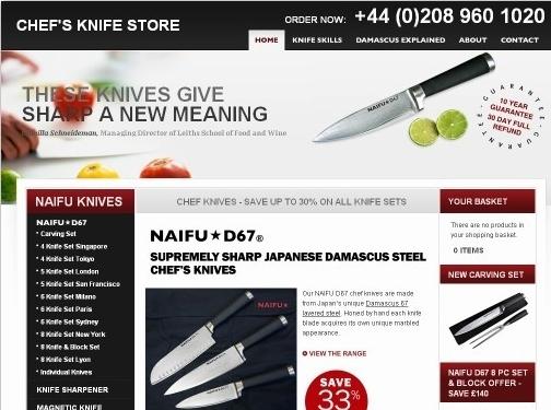 https://www.chefsknifestore.co.uk/ website