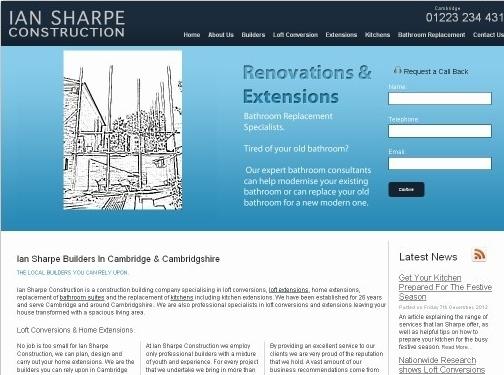 https://www.ian-sharpe.co.uk/loft-conversions website