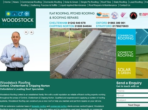 http://www.woodstockroofing.co.uk website