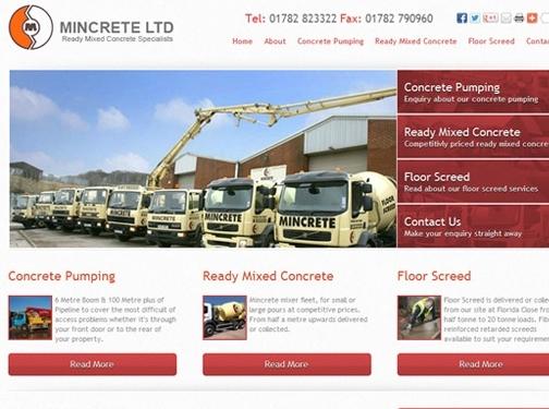 http://www.mincrete.co.uk website