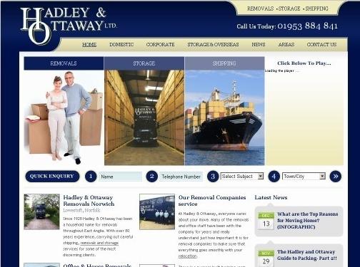 https://www.hadleyandottaway.co.uk/ website