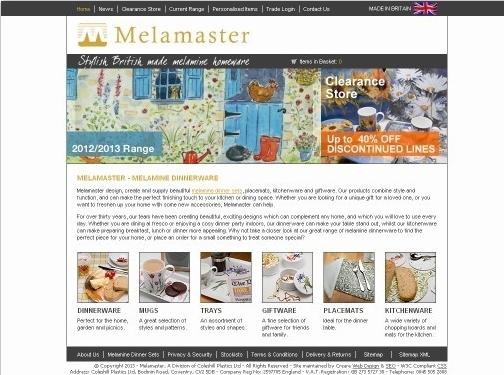https://www.melamaster.co.uk/ website
