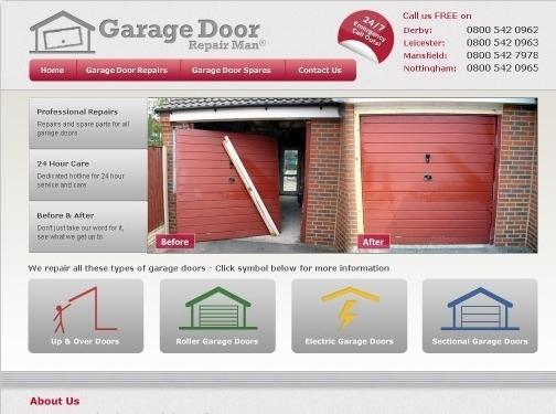 http://www.garagedoorrepairman.co.uk/ website