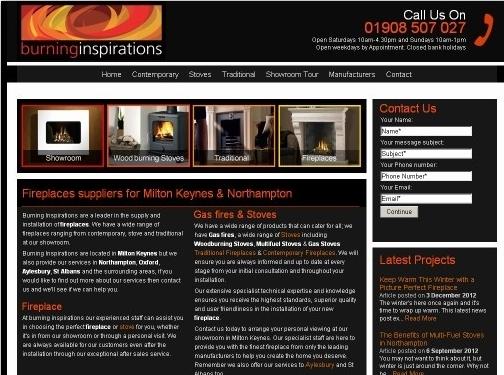 http://www.burninginspirations.co.uk/ website