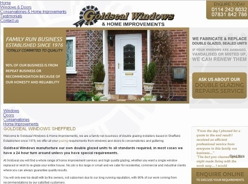https://www.goldseal-windows.co.uk/ website