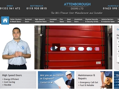 https://www.attenboroughdoor.co.uk/ website
