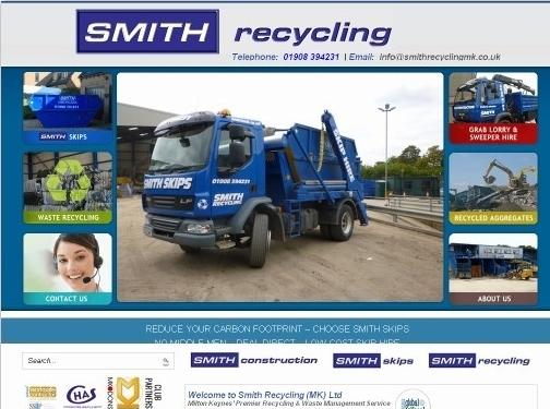 https://www.smithrecyclingmk.co.uk/ website