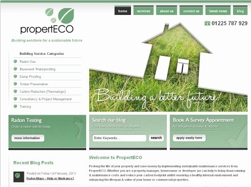 https://www.properteco.co.uk/ website