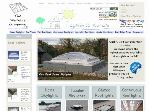 http://www.theskylightcompany.co.uk website