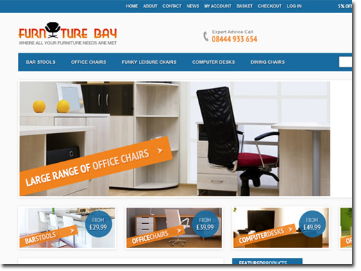 https://www.furniturebay.co.uk/ website