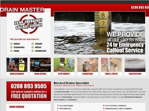 http://www.drainmasteruk.co.uk/ website