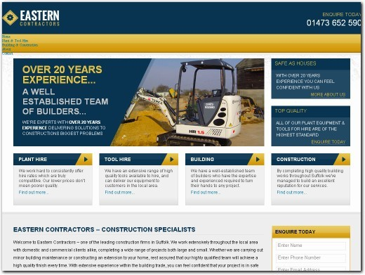 https://easterncontractors.co.uk website