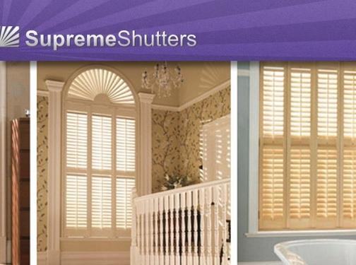 http://www.supremeshutters.co.uk website