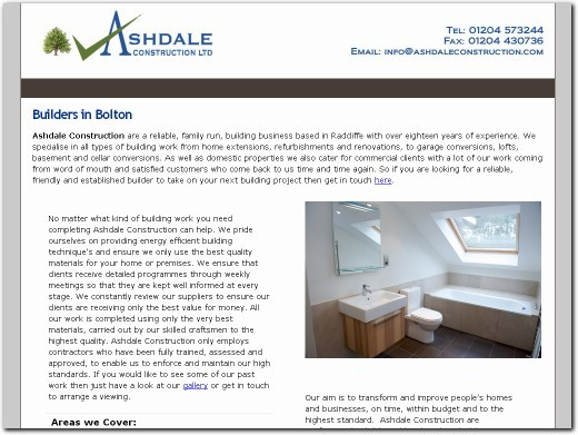 http://www.ashdaleconstruction.com website