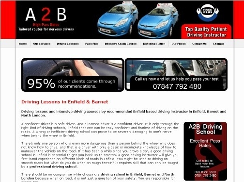 http://www.a2bdrivingschooluk.co.uk/ website