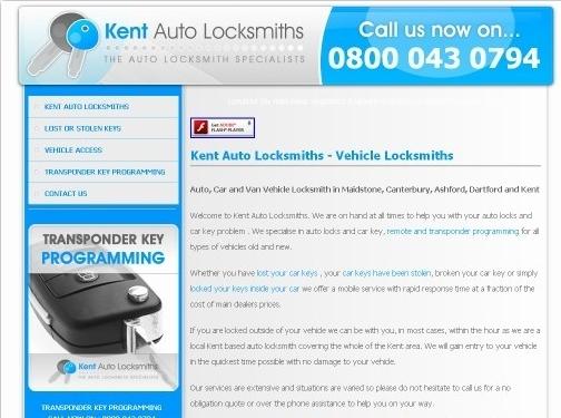 http://www.kentautolocksmiths.co.uk/ website