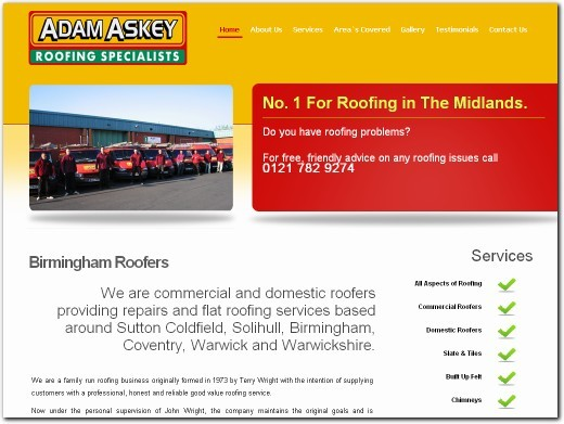 http://www.roofingbirmingham.co.uk/ website