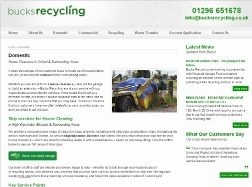 http://bucksrecycling.co.uk/domestic/ website