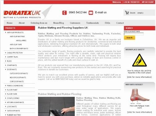https://www.duratex.co.uk/ website