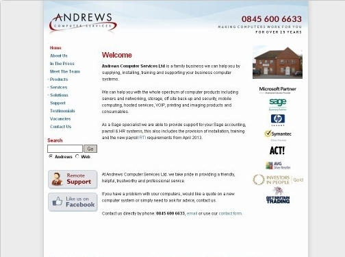 http://www.andrews-computers.com/ website