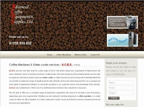 http://www.acecoffee.co.uk/ website