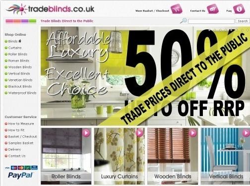 http://www.tradeblinds.co.uk/ website