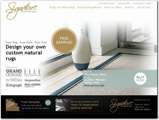 http://www.natural-rugs.co.uk website