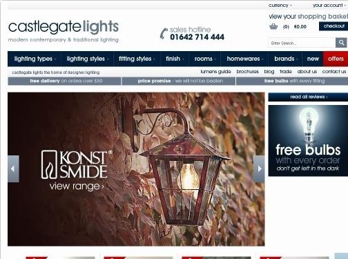 https://www.castlegatelights.co.uk/ website