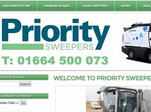 http://www.prioritysweepers.com website