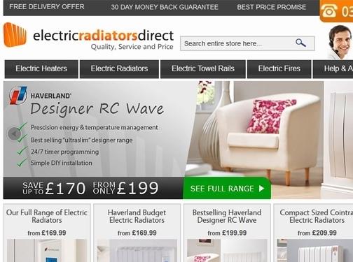 https://www.electricradiatorsdirect.co.uk/ website