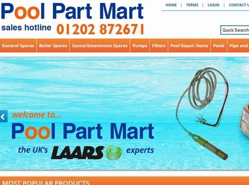 http://www.poolpartmart.co.uk website