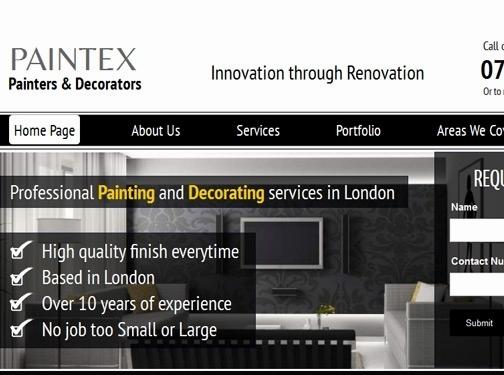 http://www.paintex.co.uk website
