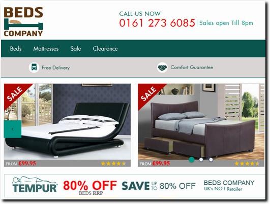 http://www.bedscompany.co.uk/ website
