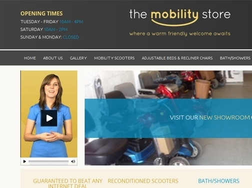 https://www.themobilitystore.co.uk/ website