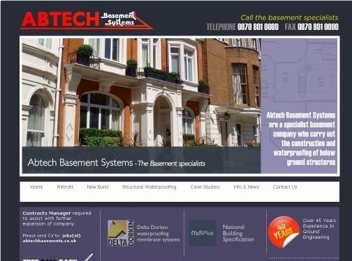 https://www.abtechbasements.co.uk/ website