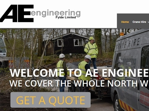 https://ae-engineering.co.uk/ website