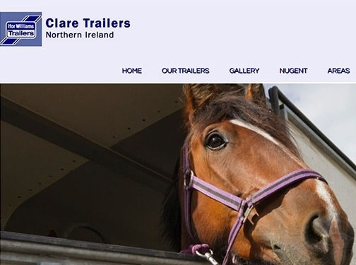 https://www.claretrailers.co.uk/ website