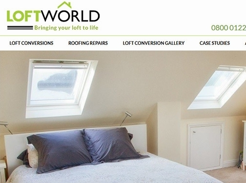 https://www.loftworldltd.co.uk/ website