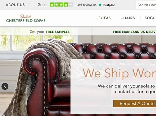 https://www.chesterfieldsofas.co.uk/ website